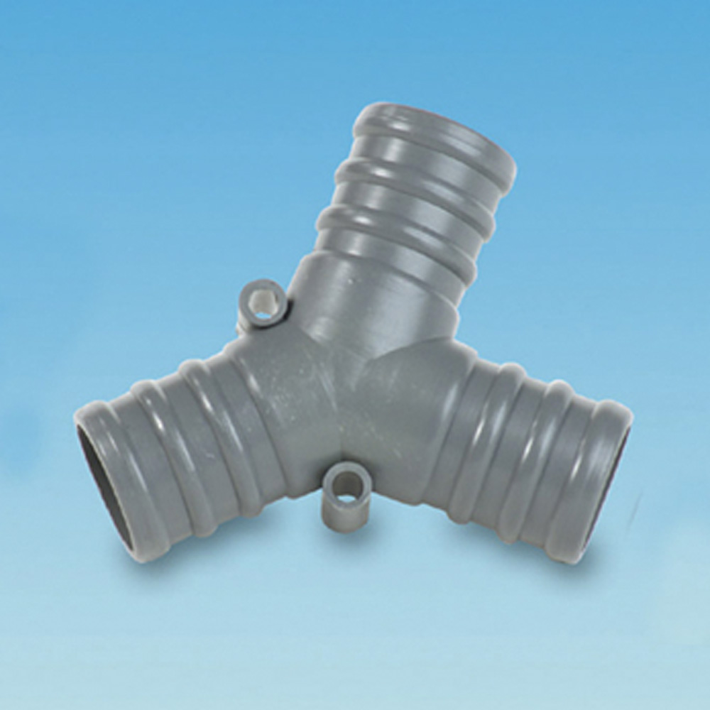 Inch mm push fit waste water y connector the