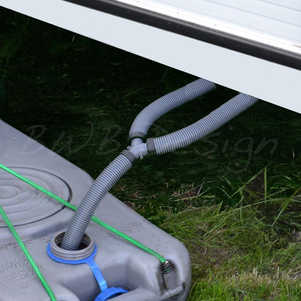 Waste Water Outlet Y Hose 23 5mm Id The Caravan