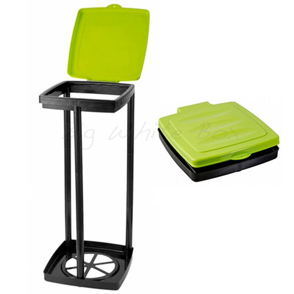 Fold Flat Waste Bin Green The Caravan Accessory Store