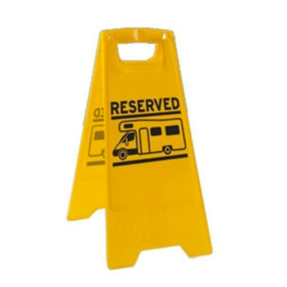 Pitch Reserved Sign