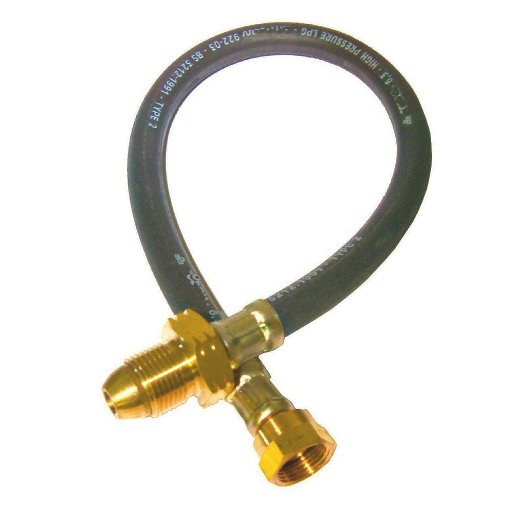Propane lpg pigtail mm the caravan accessory store