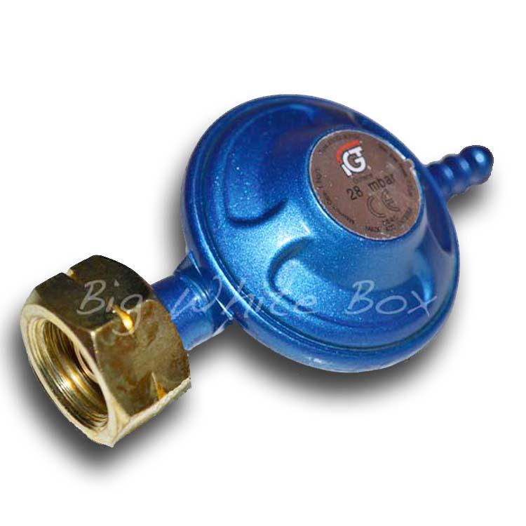 28 Mbar Butane Gas Regulator
