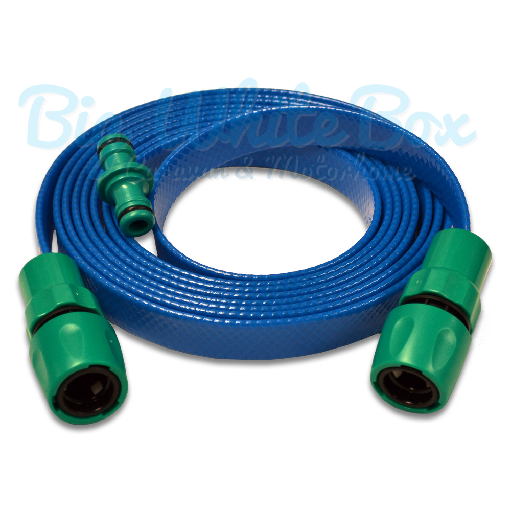 Mains Water Extension Hose - Flat | The Caravan Accessory Store