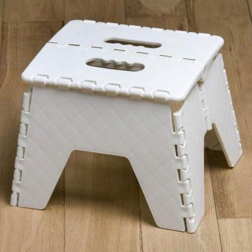 Swell Step Stool Folds Flat For Easy Storage The Caravan Beatyapartments Chair Design Images Beatyapartmentscom