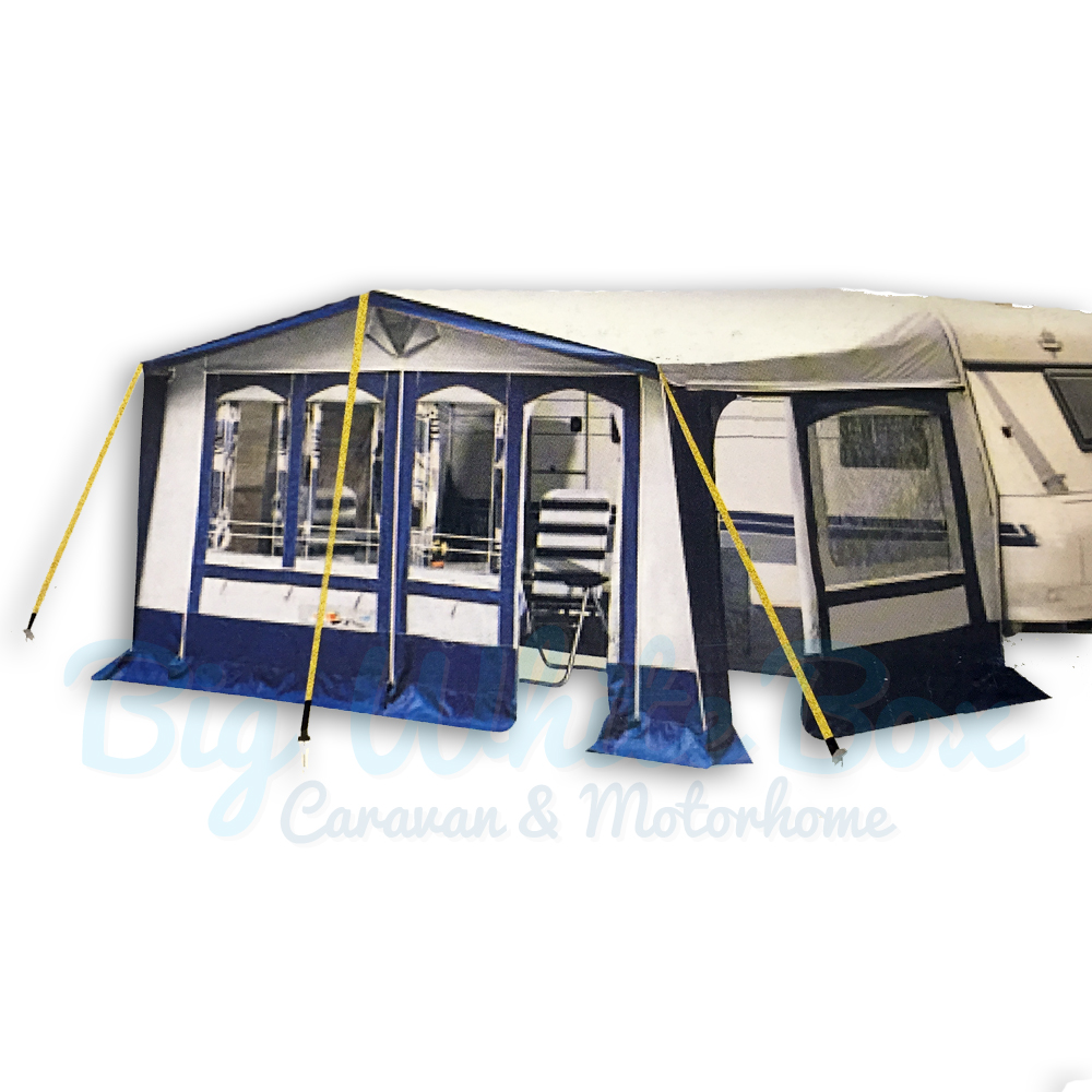 Awning Tent Universal Storm Tie Down Kit Big White Box