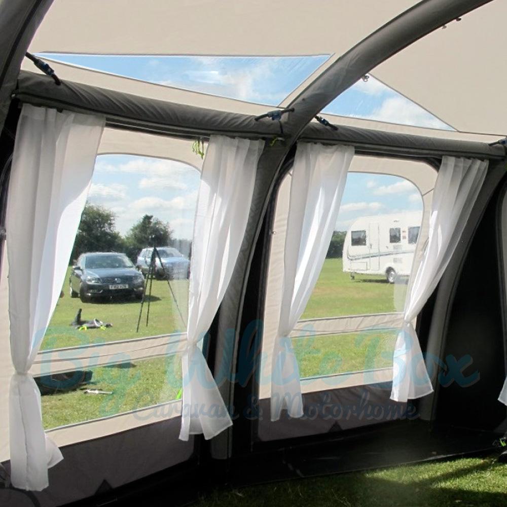Kampa Ace Air Pro 300 2017 Caravan Air Awning Big White Box
