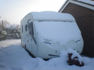 towing in the snow