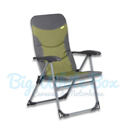 green kampa skipper chairs-single