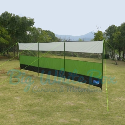 kampa windbreak-green