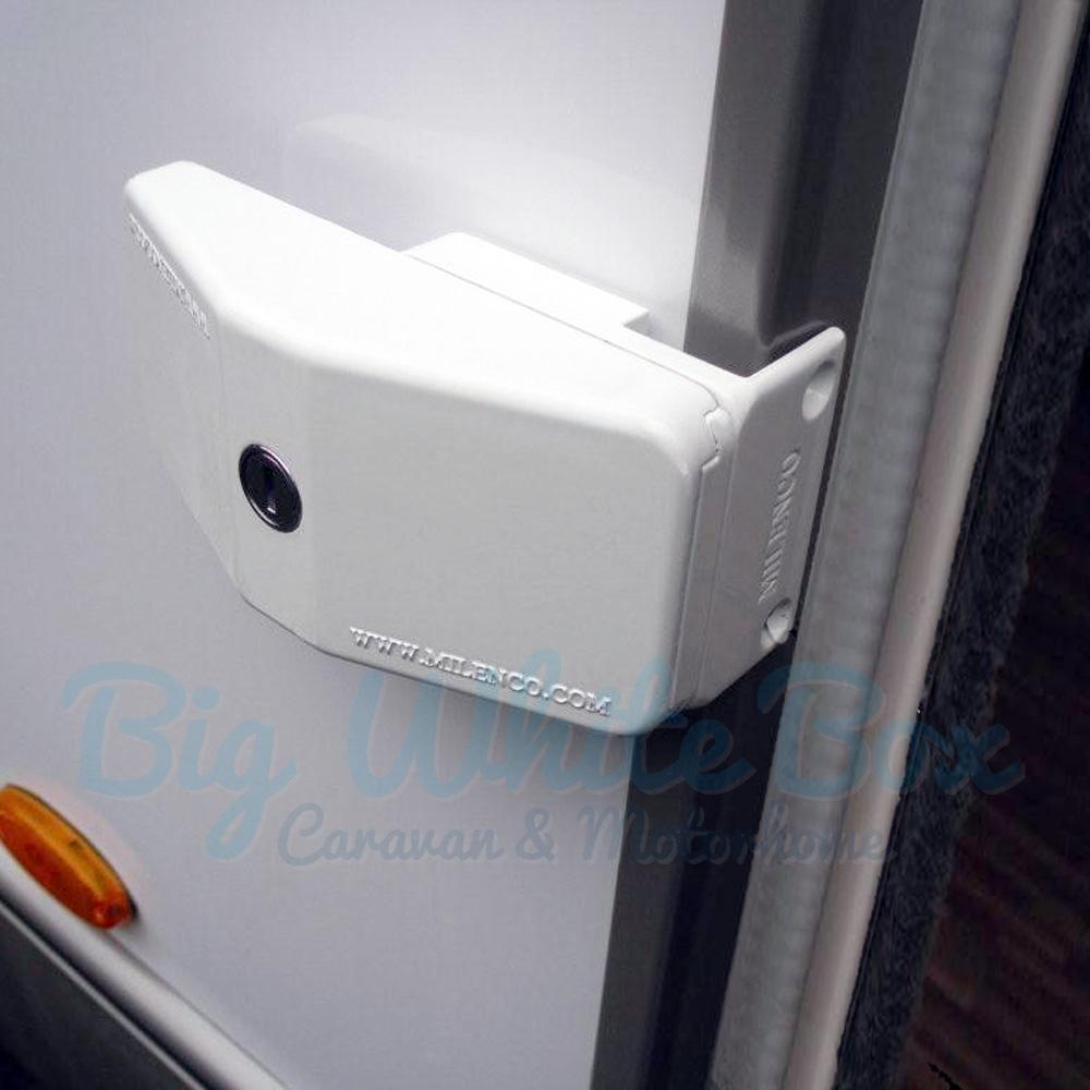 milenco door frame lock big white box. Black Bedroom Furniture Sets. Home Design Ideas