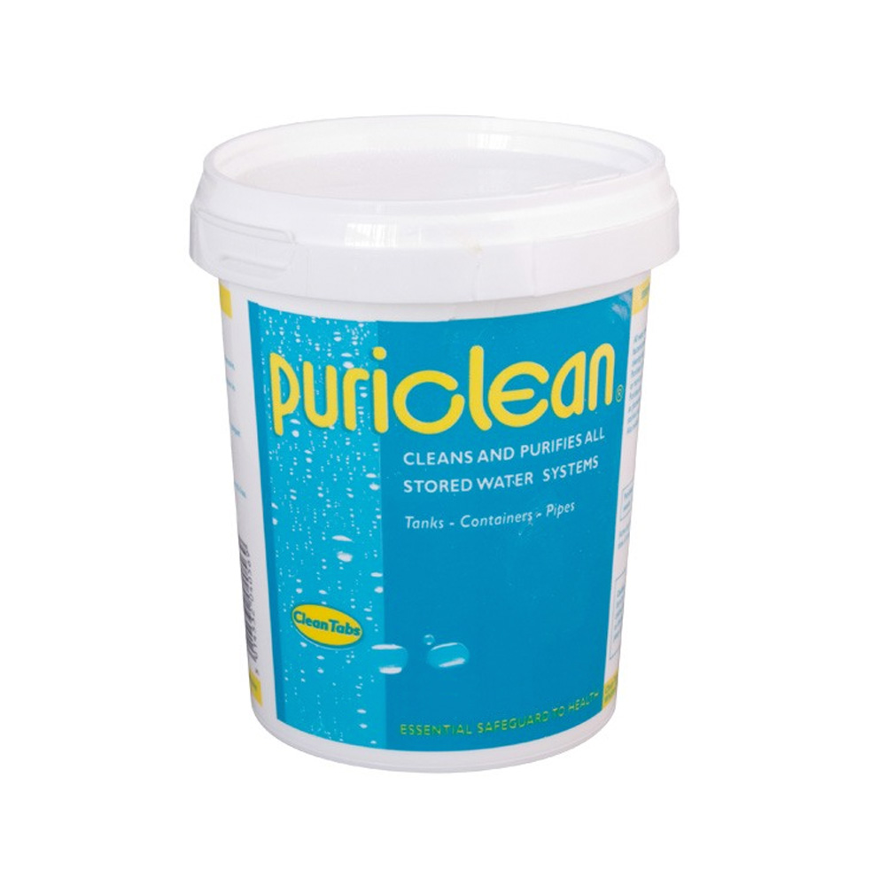 Puriclean Water Purifier 100g for Camping /& Caravans