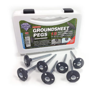 Blue Diamond Groundsheet Pegs