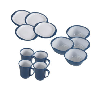 Kampa 12 Piece Dinner Set