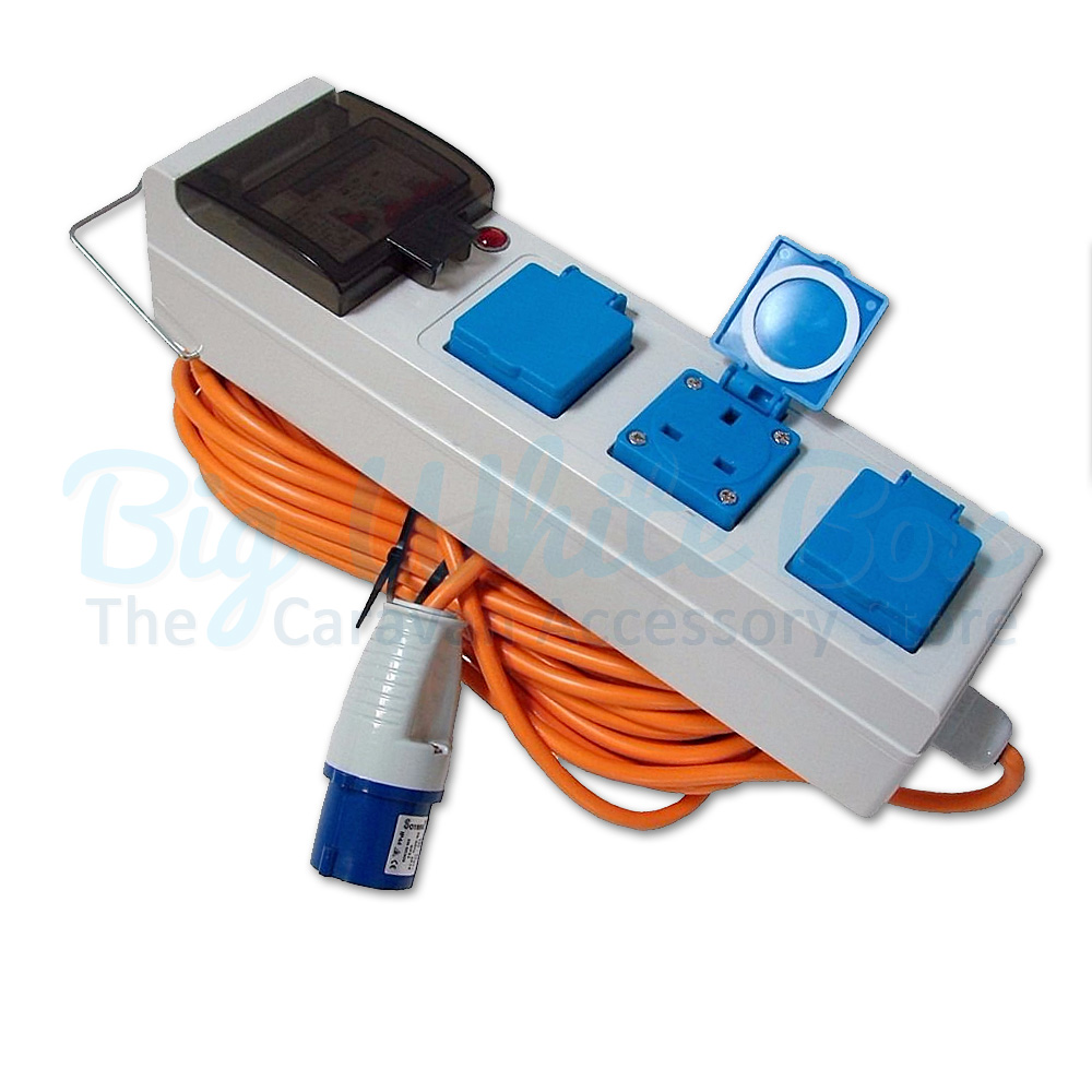 Hook Up 3 Way Splitter Camping Caravan For Hook Up lead