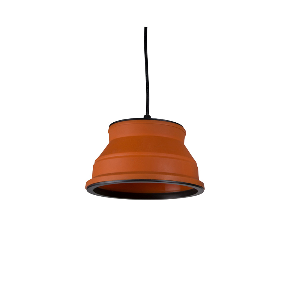 Kampa Groove Collapsible Pendant Light Orange The
