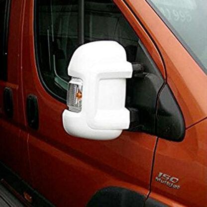 Milenco Van Mirror Protectors - White
