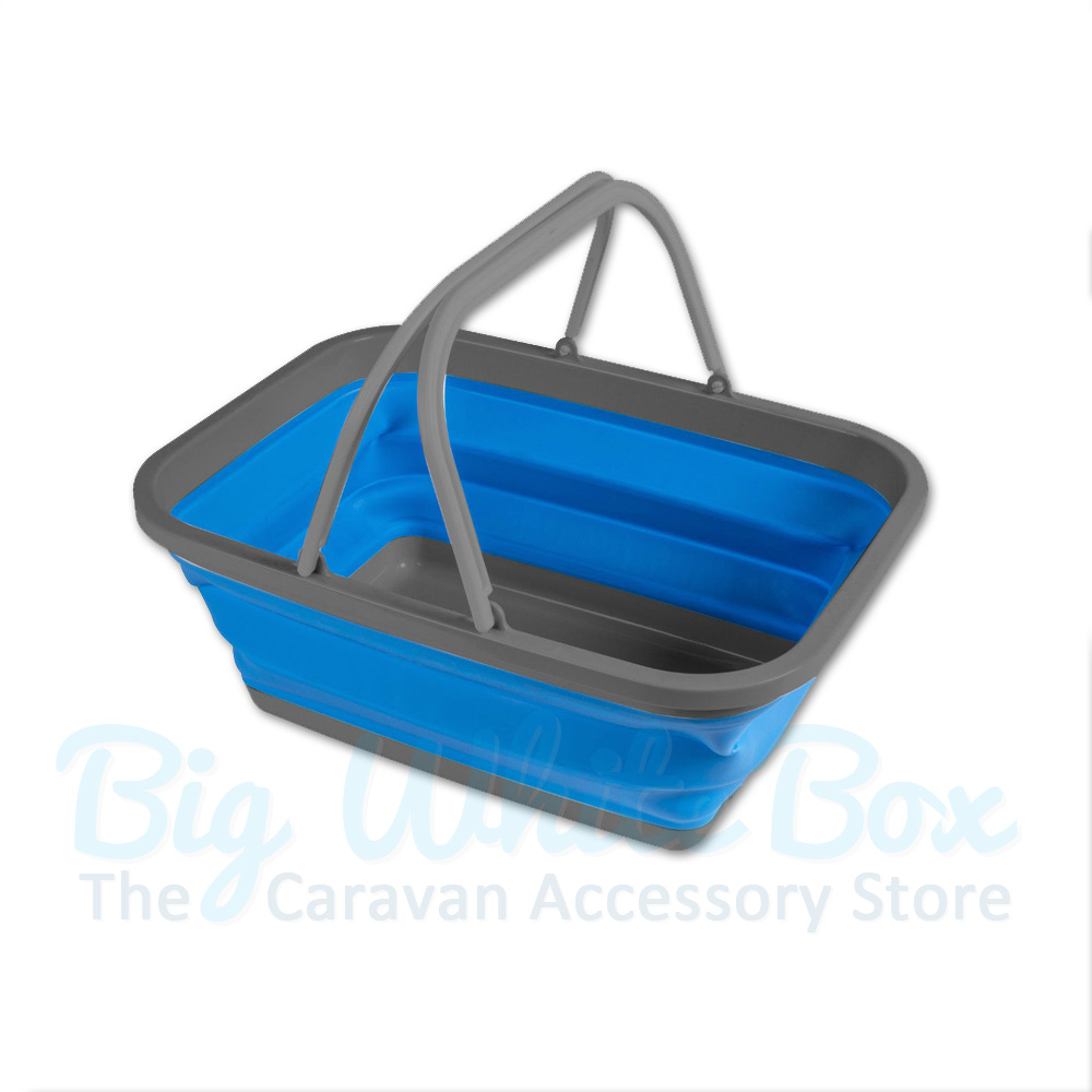 Kampa Large Folding Washing Up Bowl Blue The Caravan