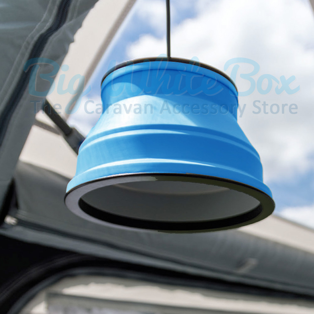 Kampa Groove Collapsible Pendant Light Blue The