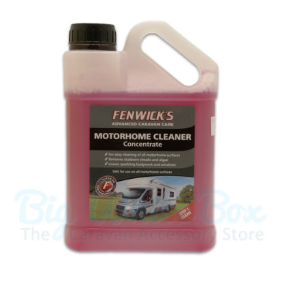 motorhome cleaner
