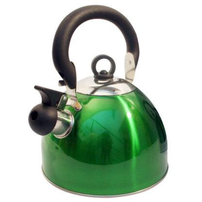 whistling kettle green