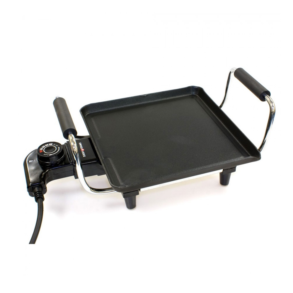 swiss luxx portable teppanyaki grill the caravan. Black Bedroom Furniture Sets. Home Design Ideas