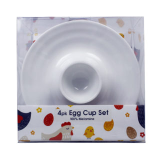 4pk Egg Cup Set