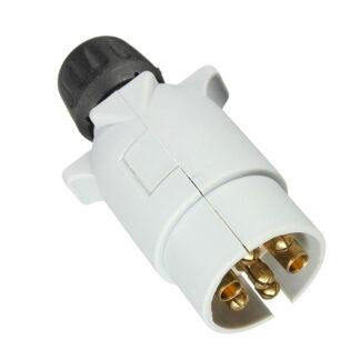 7 Pin Towing Plug - Grey