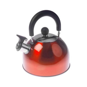 Red Whistling Kettle