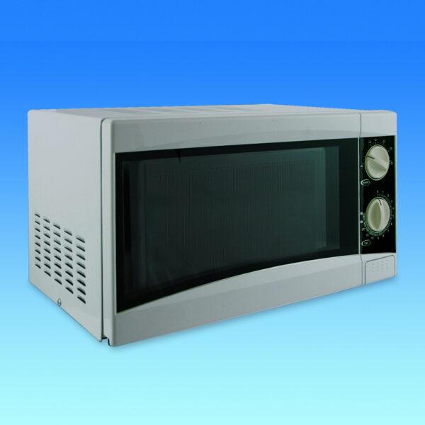 Caravan Microwave Oven - Silver