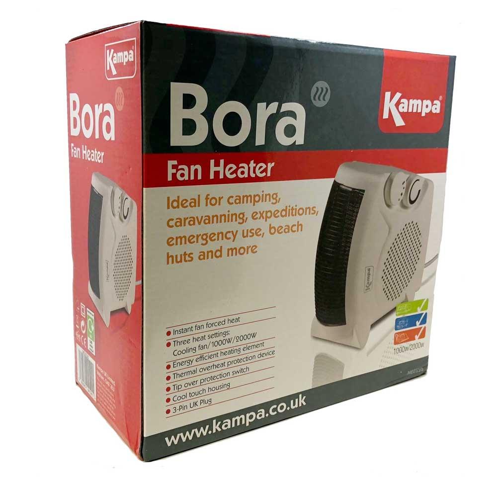 Kampa Bora Fan Heater The Caravan Accessory Store