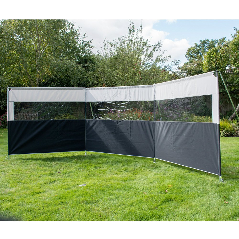 Kampa Pro Windbreak 3 Panel The Caravan Accessory Store