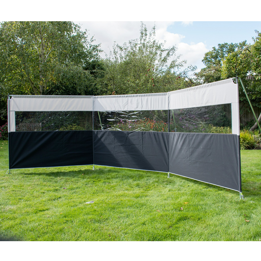 Kampa Pro Windbreak 3 Panel Big White Box