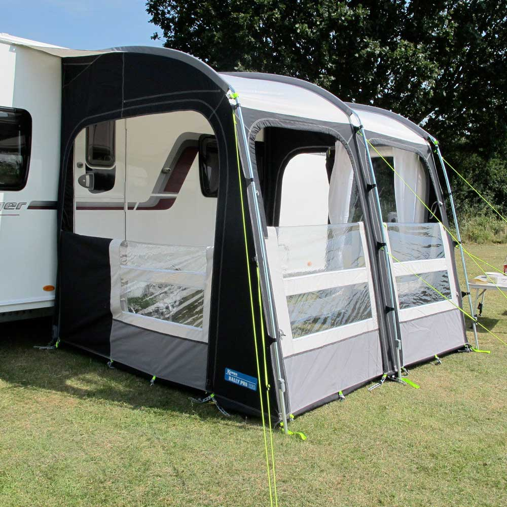 Kampa Rally Pro 260 2018 Poled Awning The Caravan