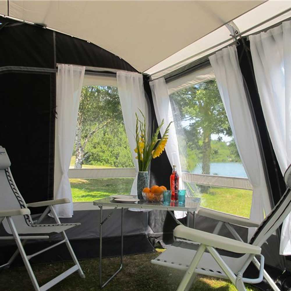 Kampa Rally Pro 330 2018 Poled Awning The Caravan