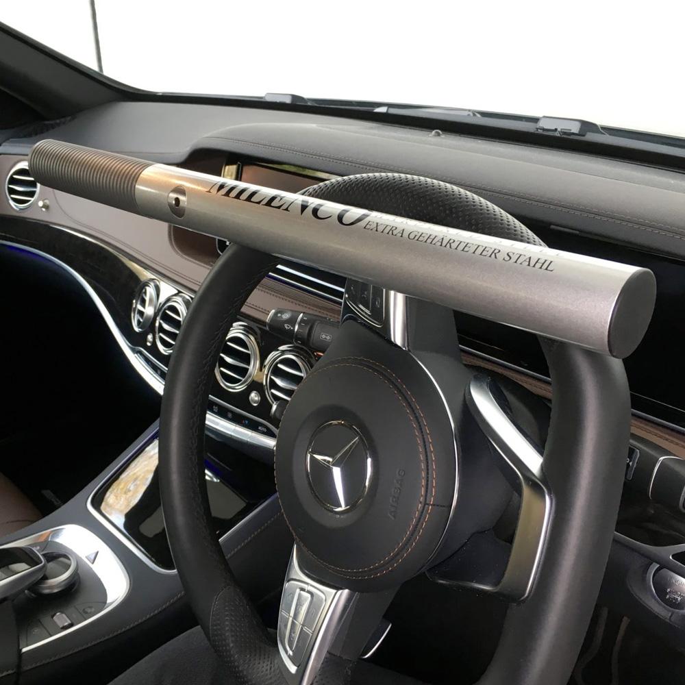how to use steering wheel lock