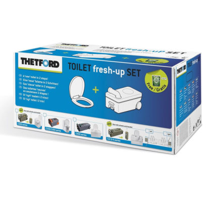 Replacement cassette toilet