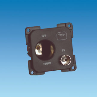 C-Line 12 Volt & TV Socket