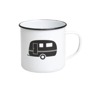 Caravan Enamel Mug