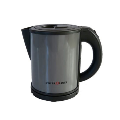 Swiss Luxx Grey Coloured Kettle