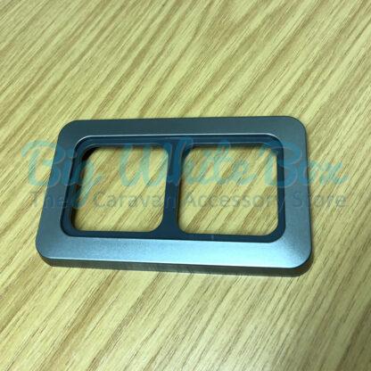 Van Conversion Plug Socket Faceplate