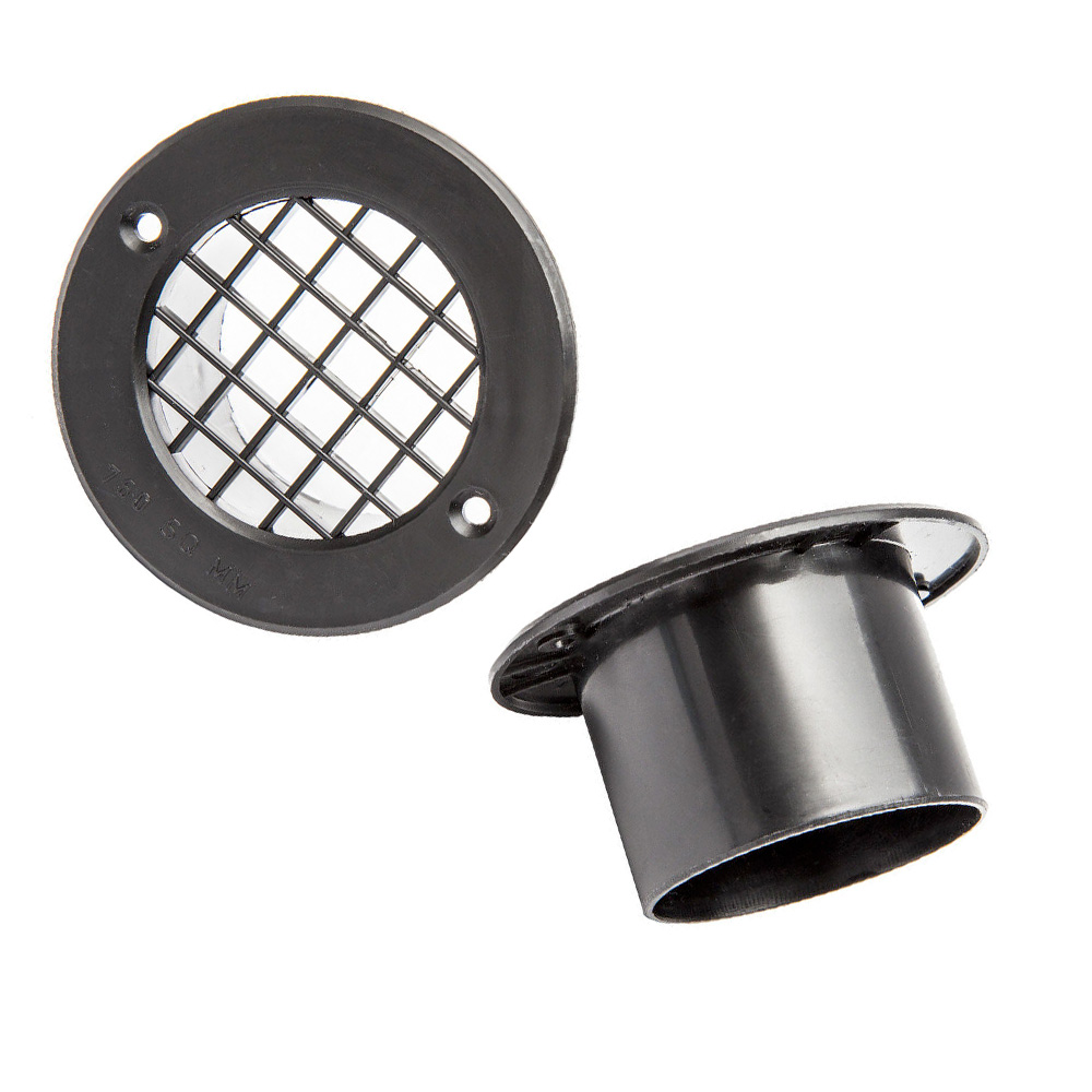 35mm Gas Drop Out Vent Black X 2 The Caravan Accessory
