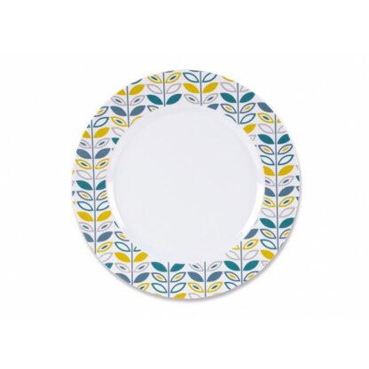 Caravan Melamine Dinner Plate