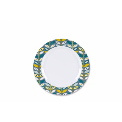 Floral Plastic Side Plate