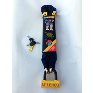 Milenco Dundrod Motorcycle U Lock + 14mm Chain