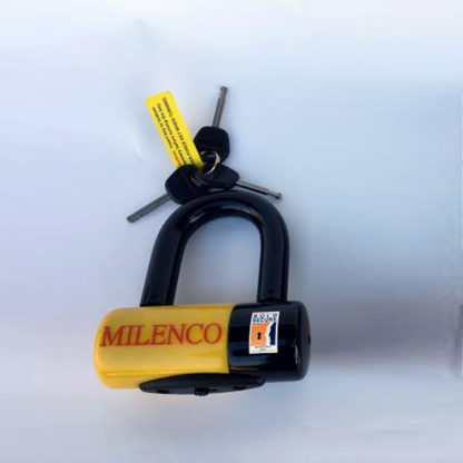 Milenco Dundrod+ U Lock 16x65mm