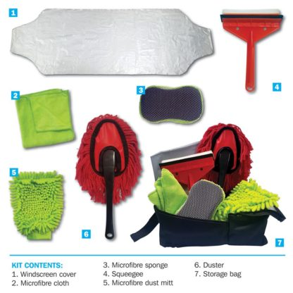 7pc Streetwize Cleaning Kit