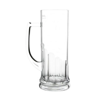 Flamefield Acrylic Tankard Beer Glass 0.6L