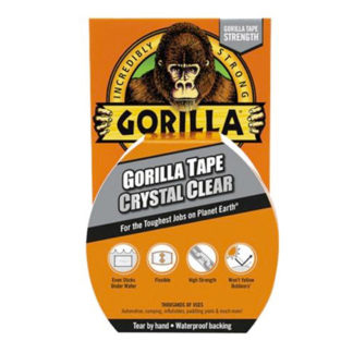 Gorilla Tape Crystal Clear 3044701