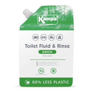 Kampa Green Toilet and Rinse Pouch 1L LQ00007
