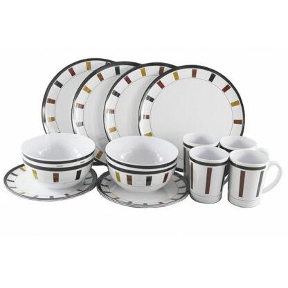 Elegance Melamine Dining Set 16 pieceME440 Plate